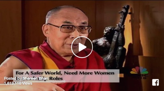 (Video) Dalai Lama on CNBC