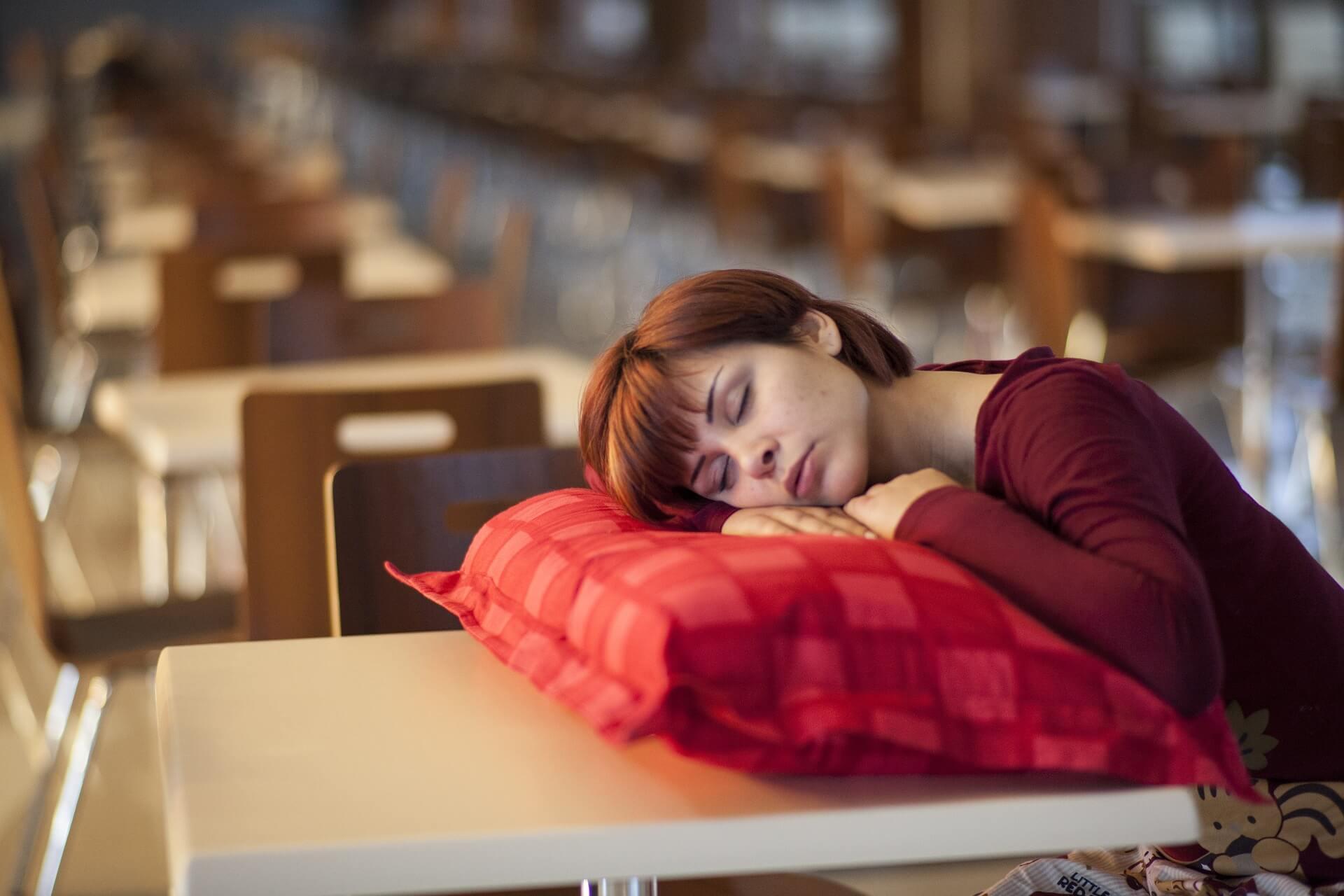 Woman asleep: Here's Why sleep matters
