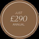 Bronze £290 Annual