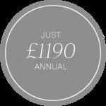 Silver £1190 year