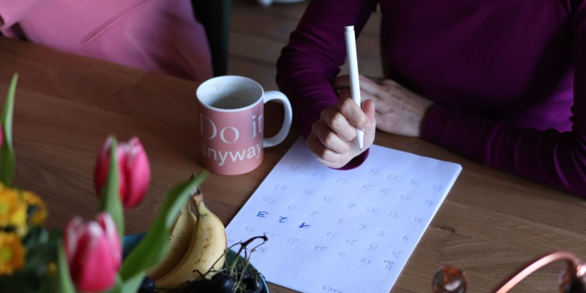 Woman with a schedule: When self care feels like a chore